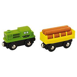 Carousel Freight Train Wooden Toy Cafe Ideas Childrens Area