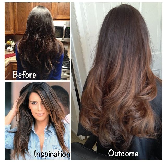 Reeeally subtle ombre im thinking about pinterest subtle ombre hair solutioingenieria Choice Image