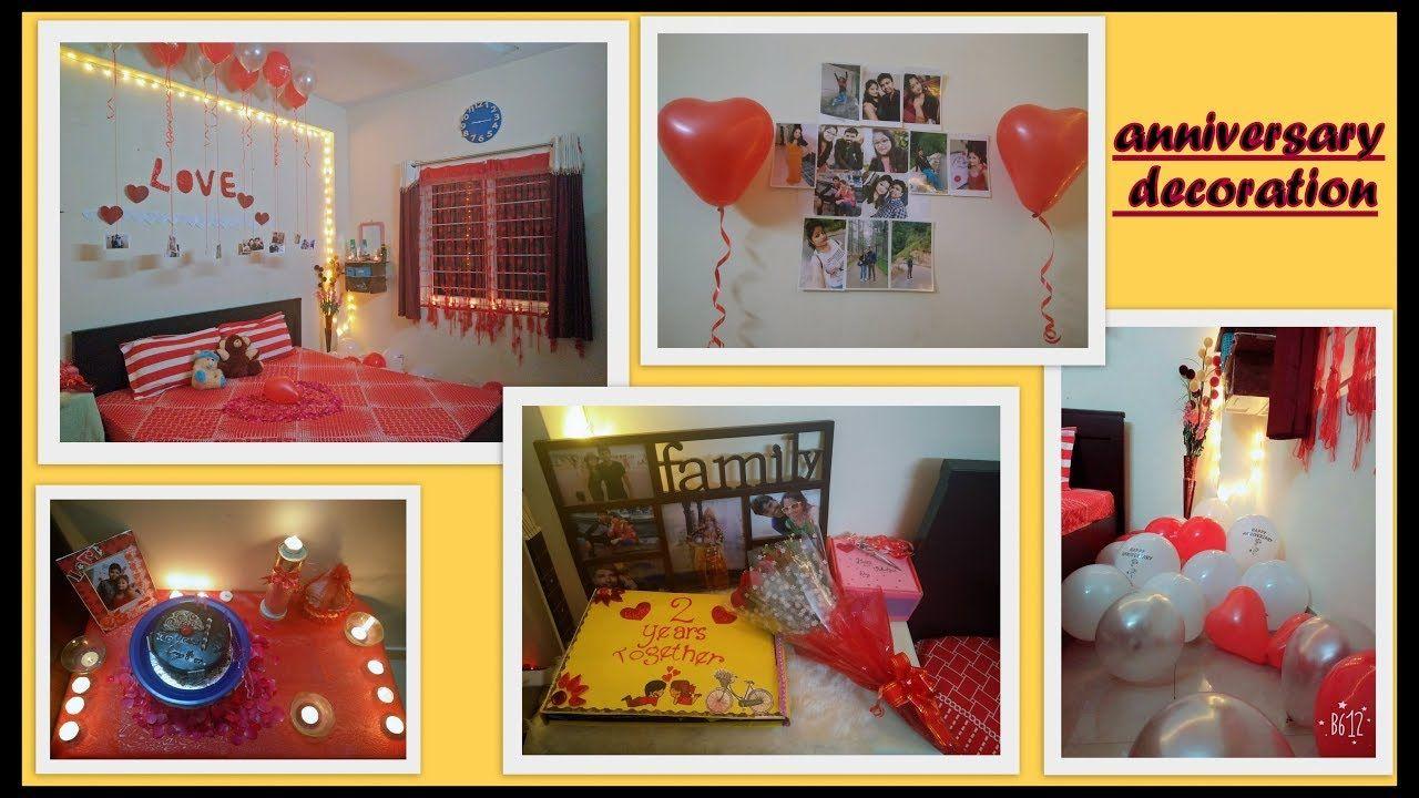 Wedding anniversary decoration also decorations ideas at home rh nz pinterest