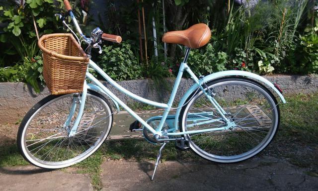 Bicicleta Vintage Retro Turquesa R$1100,00