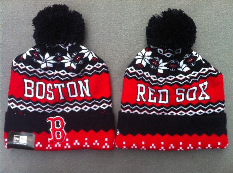 c94c87a8c48 Boston Red Sox Knit Caps Beanie Hats New Era