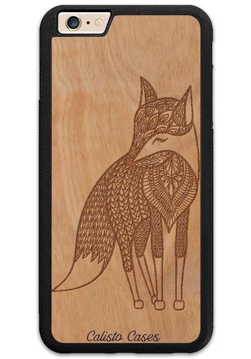 Happy Fox Slim Wood Case for iPhone 6 Plus / 6s Plus