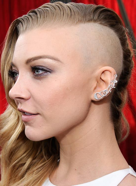 Top 50 Bold Bald And Beautiful Hairstyles  Half Shaved Head, Half Shaved Hair, Bald Women Fashion-8833