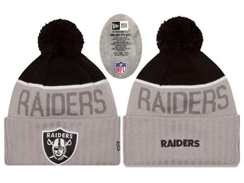 Mens / Womens Oakland Raiders New Era NFL Sweater Chill On-Field ...