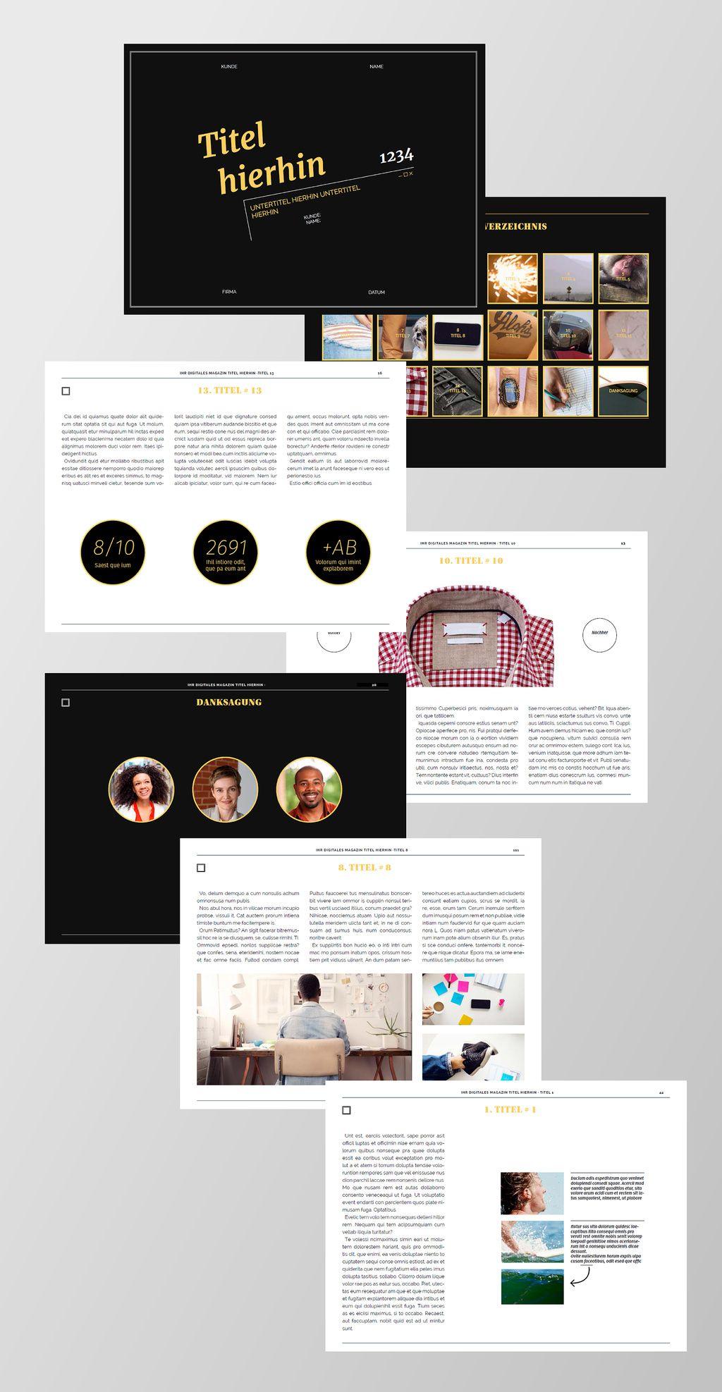 Kostenlose InDesign Vorlagen für Magazine | Creative blog by Adobe ...