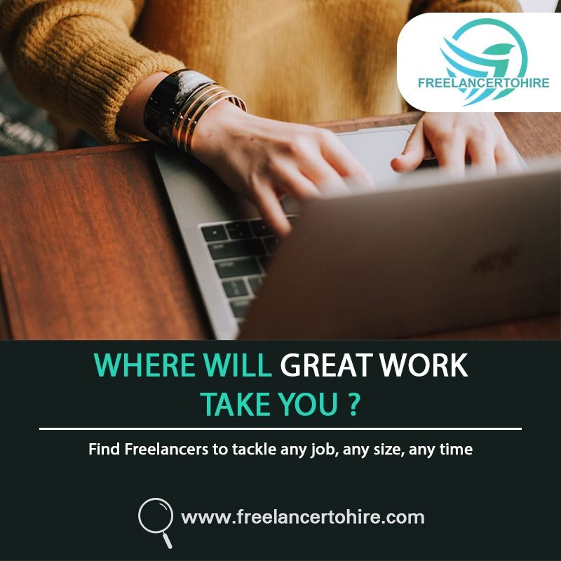 Where Will Great Work Take You Freelancertohire Freelancing Jobs Online Jobs Online Data Entry Jobs