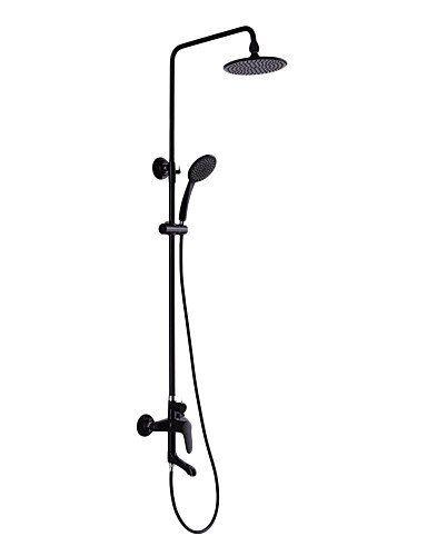 Dusche Wasserhahn Zeitgen?ssische schwarze Malerei beenden drei L - wasserhahn küche mit brause