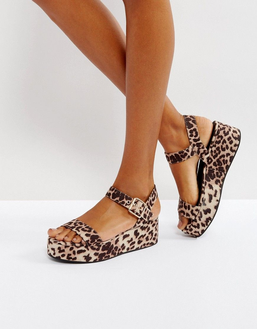 ASOS TOUCAN Wedge Sandals at asos.com