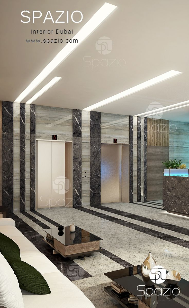 Fit Out Works Dubai Uae Lobby Interior Design Interior Design Career Lobby Design
