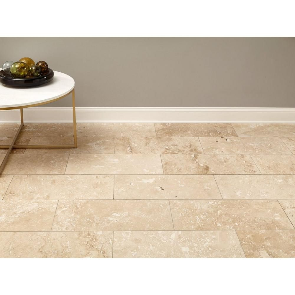 Caria Light Travertine Tile Floor Decor Travertine Tile Light Travertine Tiles Travertine