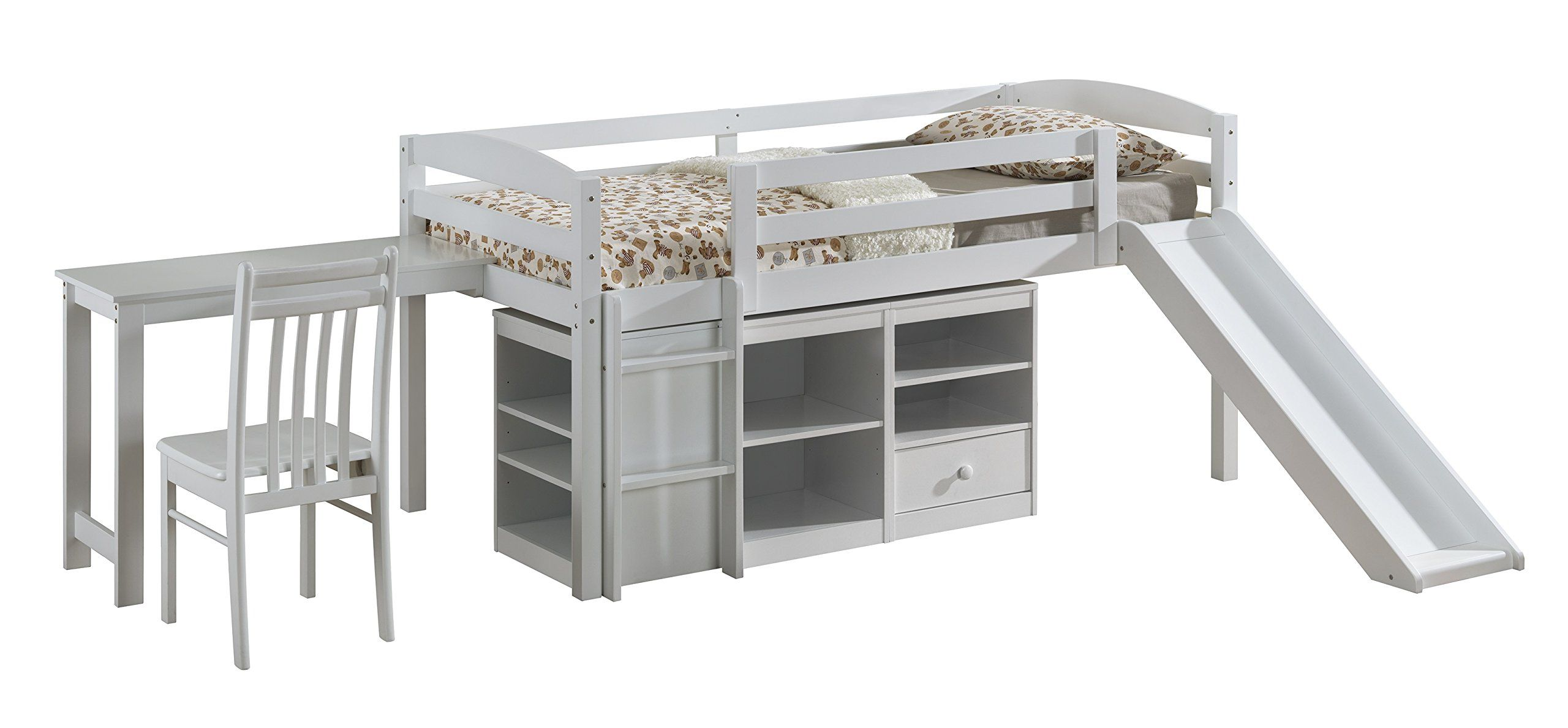 Loft bed with slide weight limit  Fire Department Curtain Set for Junior Loft Bed  Loft beds Junior