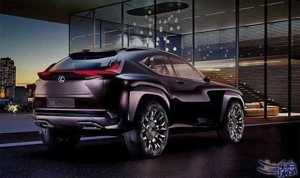 لكزس تكشف عن رباعية دفع صغيرة في معرض باريس للسيارات Lexus New Lexus