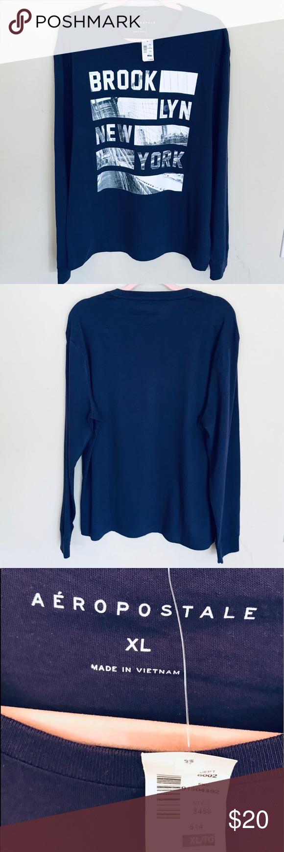 10a691bc Aeropostale Mens Long Sleeve T Shirts – EDGE Engineering and ...
