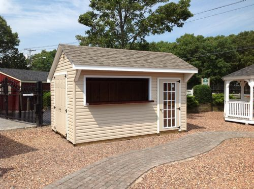 Basic idea for bar shed home sweet home pinterest for Garden pool sheds