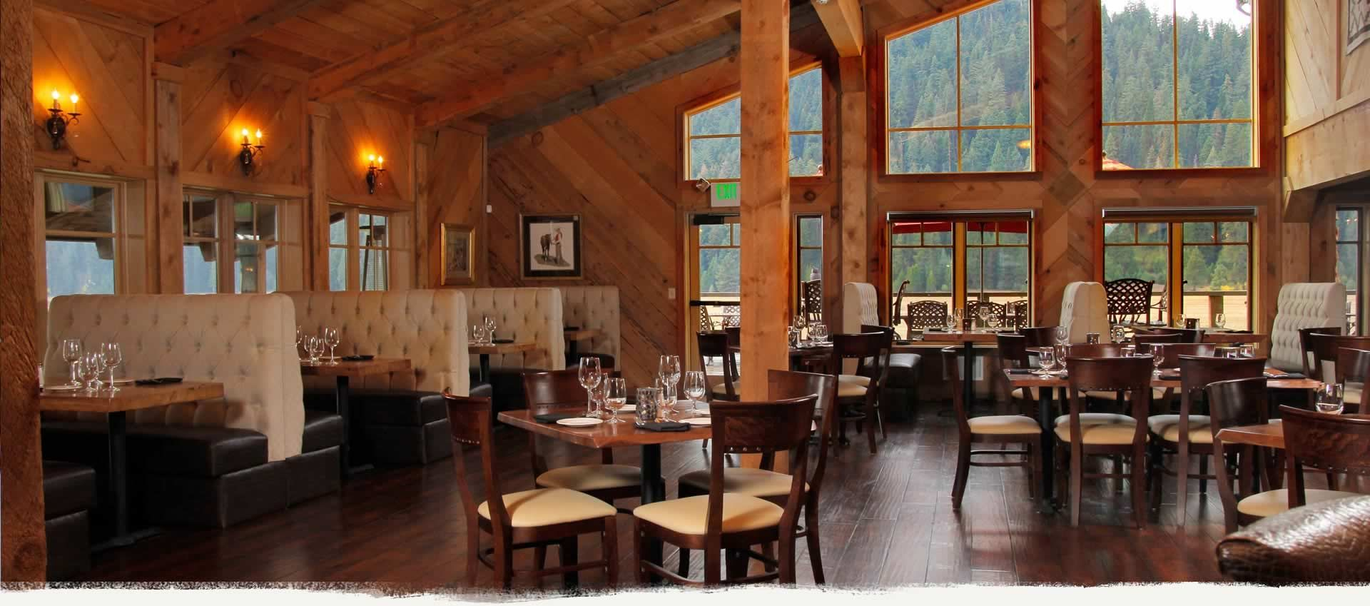 The Highlands Ranch Restaurant And Bar In Len Volcanic National Park Resort Bed Breakfast