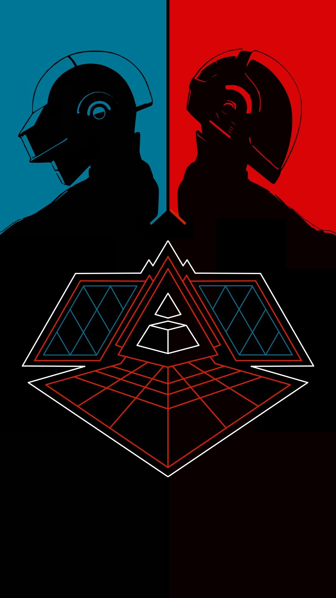 Daft Punk Alive Phone Wallpaper 1080 x 1920 in 2019 ...