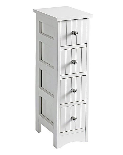 New England 4 Drawer Unit Drawer Unit Storage Spaces Bathroom Essentials