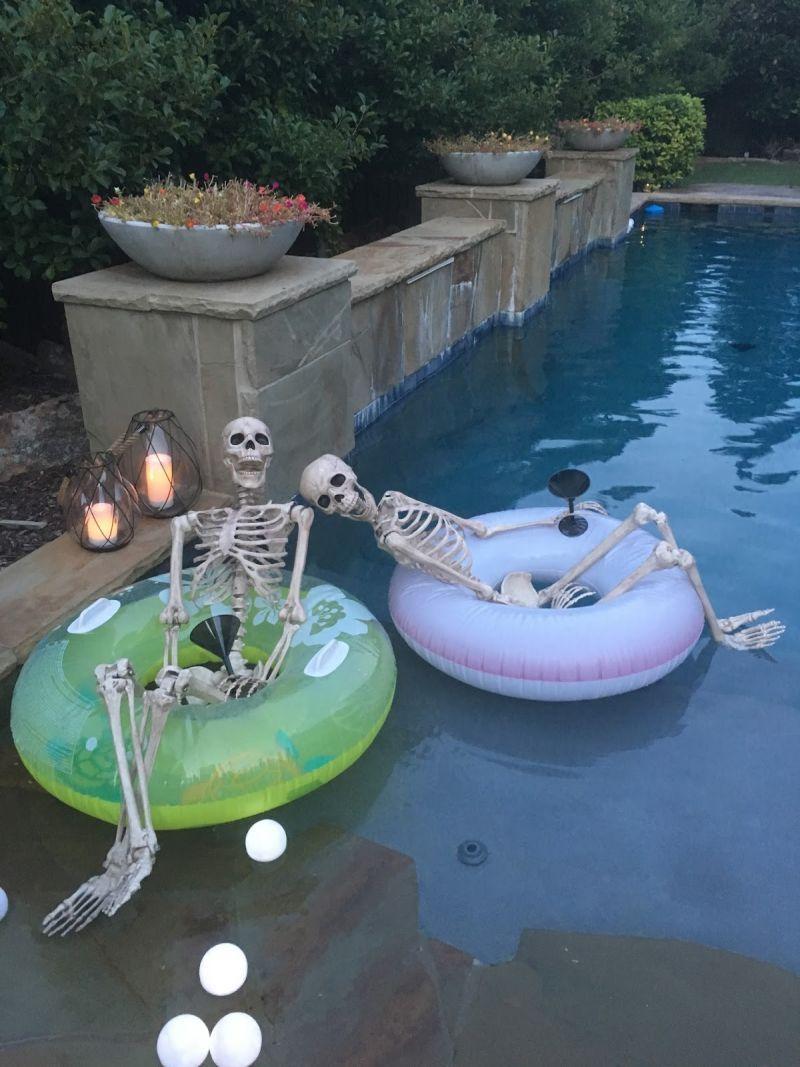 15+ Spooktacular Ways to Enjoy Halloween Pool Party