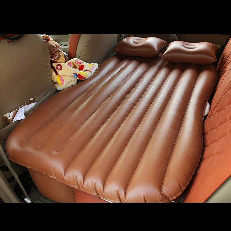 car travel bed inflatable mattress auto outdoor camp for