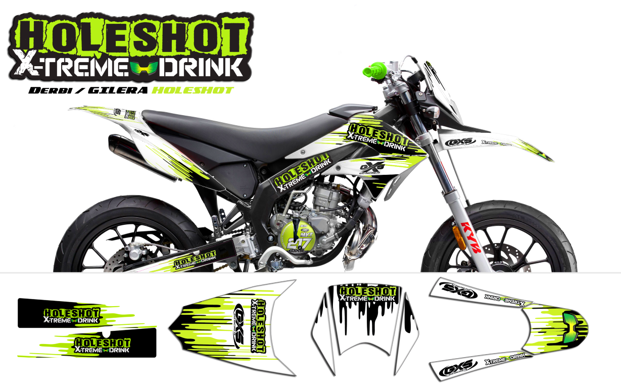kit d co derbi gilera smt holeshot energy drink kit d co gxs pinterest d co. Black Bedroom Furniture Sets. Home Design Ideas