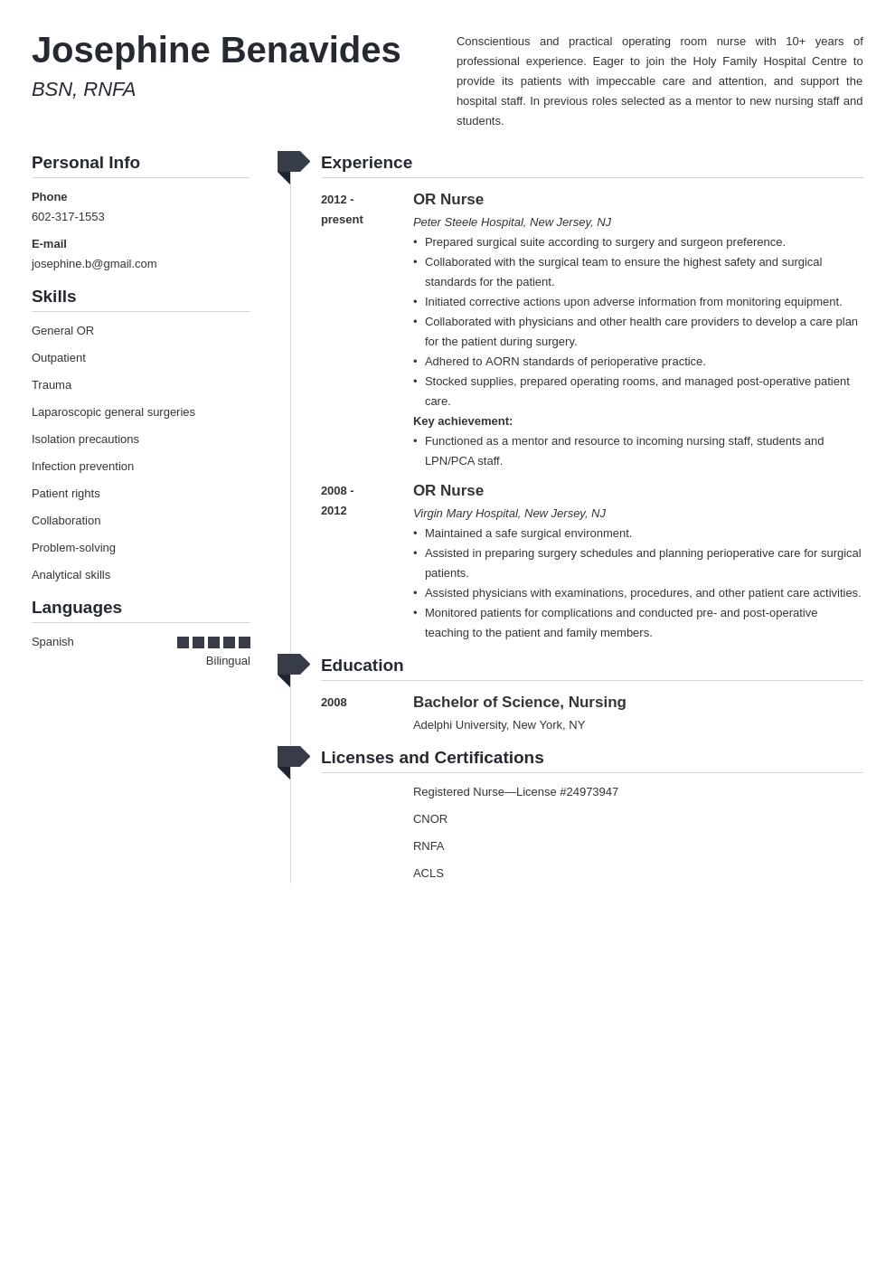 23++ Operating room nurse resume template ideas in 2021