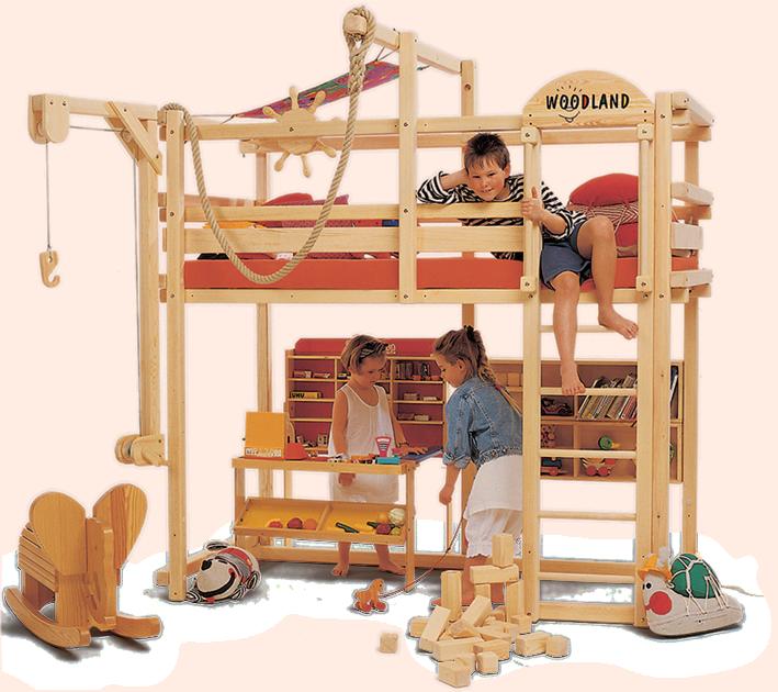 New Das WINNIPEG in wei Hochbett ist schon f r Kinder ab dem Lebensjahr geeignet da es als einziges Hochbett seiner Art auch in ein Babybett und vier