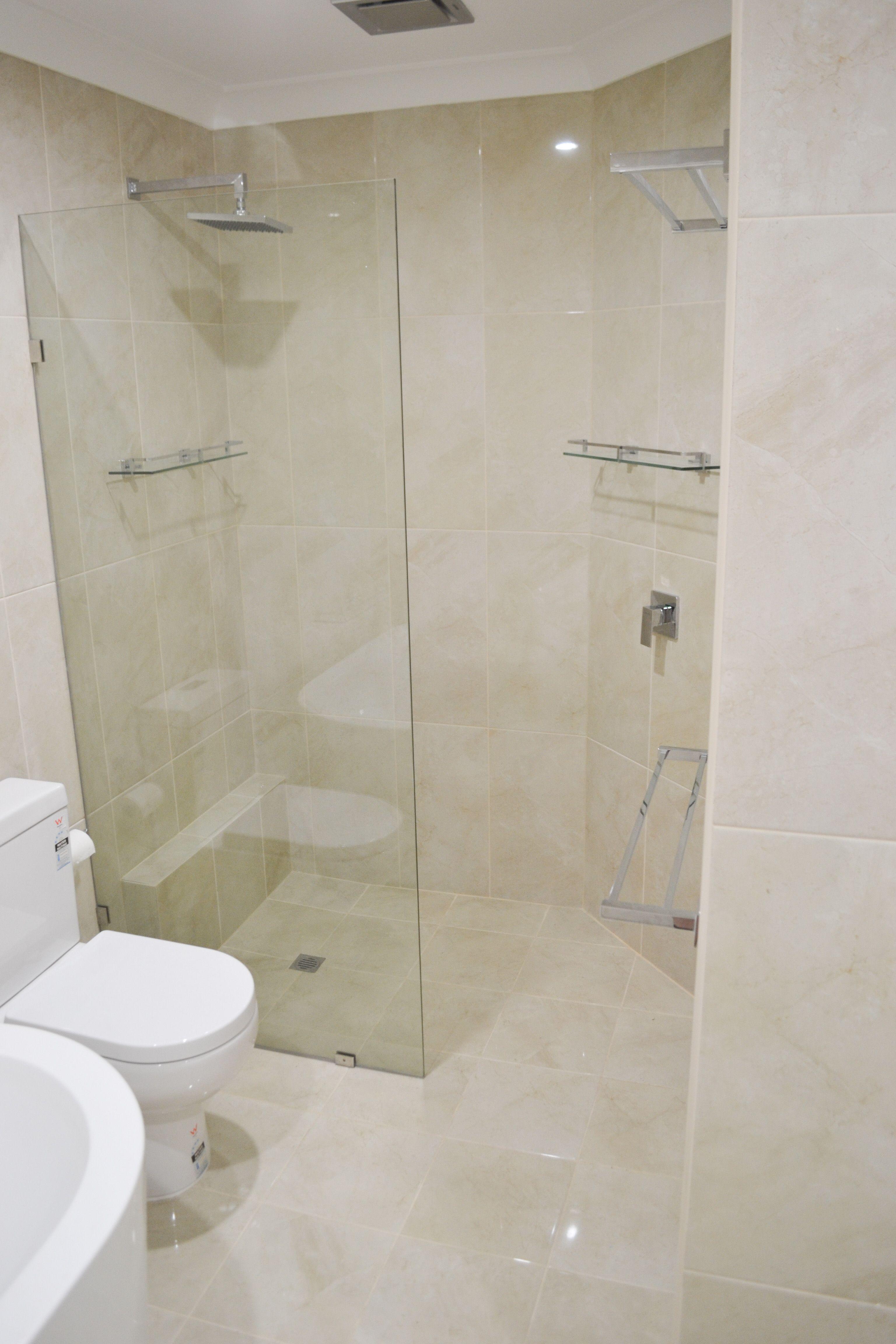 Walk In Shower - Cream Bathrooms - Wet Room Set Up - Large Ensuite ...