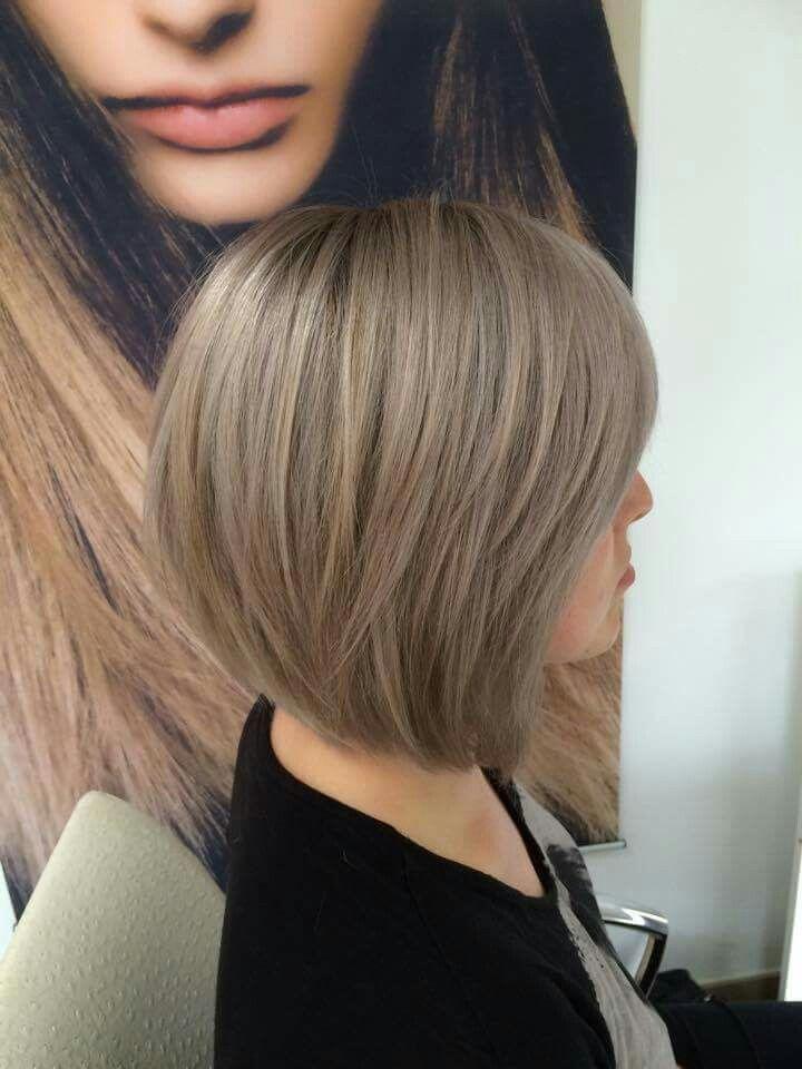 kühles Blond | Kurze Haare in 2019 | Long hair styles ...