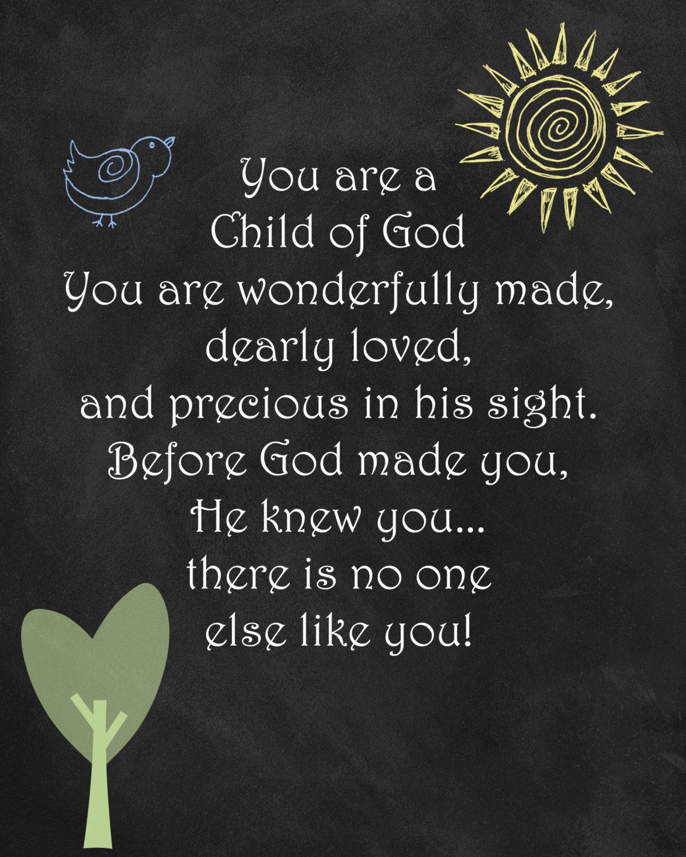 Printable Baby Wall Art Bible Verse Scripture  $15 00, via