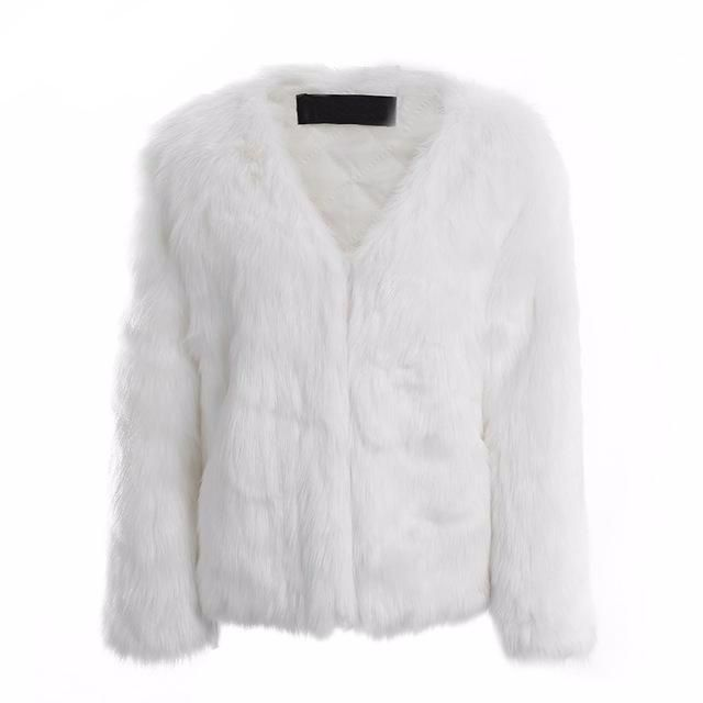 This faux fur coat is all you need for a night out. So soft   comfy ... a309cac03