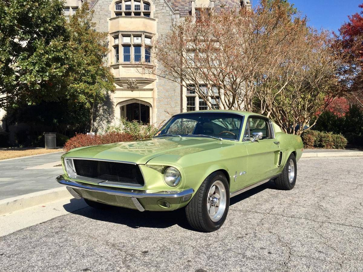 1968 Ford Mustang | 60s & 70s Cars | Pinterest | Ford mustang ...