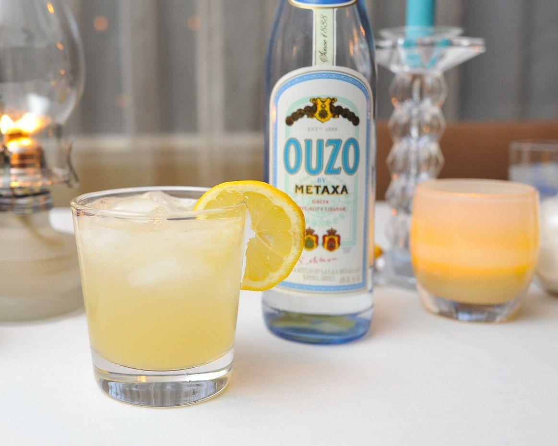 Shaun S Greek Cocktail Recipe Ouzo Cocktails Ouzo Drinks Ouzo