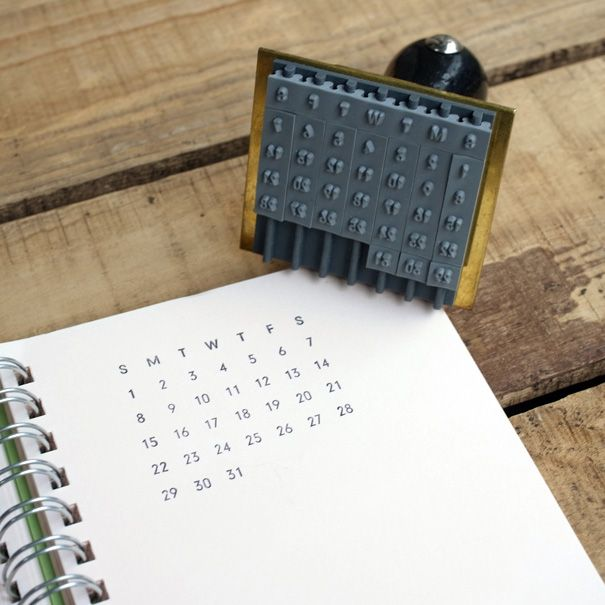 Calendar Stamp Bullet Journal : Mizushima calendar stamp products pinterest