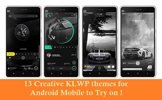 25 Creative KLWP themes for Android Mobile to Try on