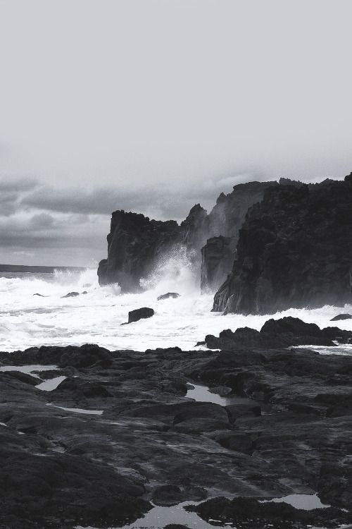 Scenic Landscape Ocean The Black Workshop Zhivopisnye Pejzazhi Okeanskie Volny Pejzazhi