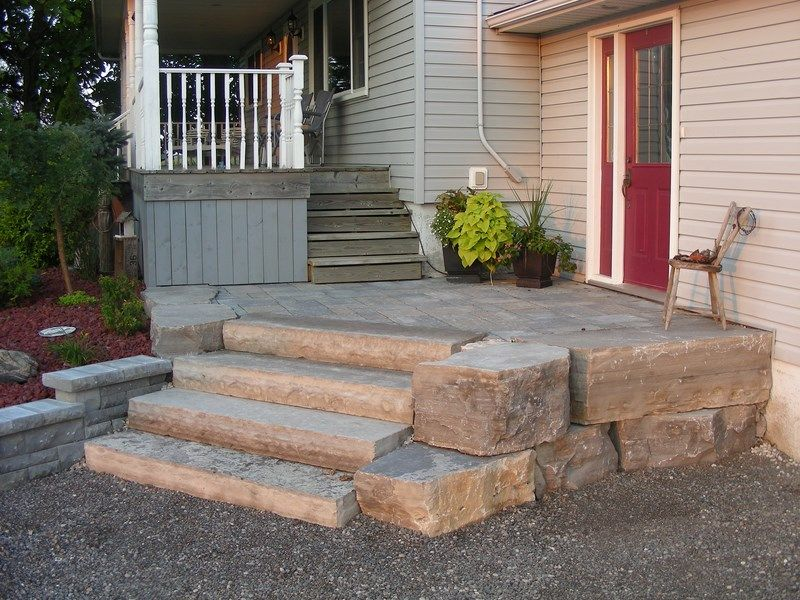 Armour Stone And Raised Patio (Appin)   Photo Gallery