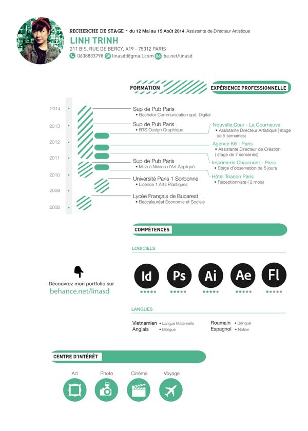 My Curriculum Vitae On Behance Resume Design Inspiration Resume Design Creative Cv