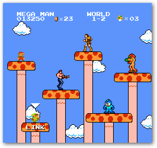 Mario - Game Crossover