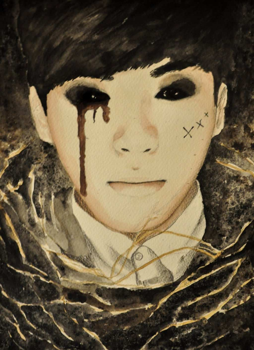Doll Painting Unique Vixx Hongbin Voodoo Doll by ...