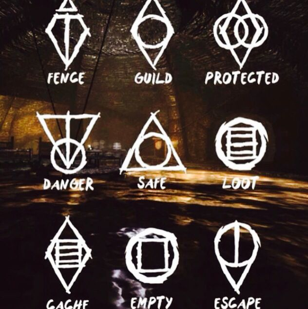 They Are Actually Written On The Walls In Skyrim Gamer Pinterest