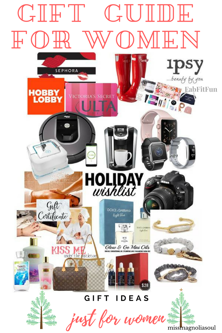Gift Ideas for WOMEN. Christmas shopping gift guide to get your wife ...