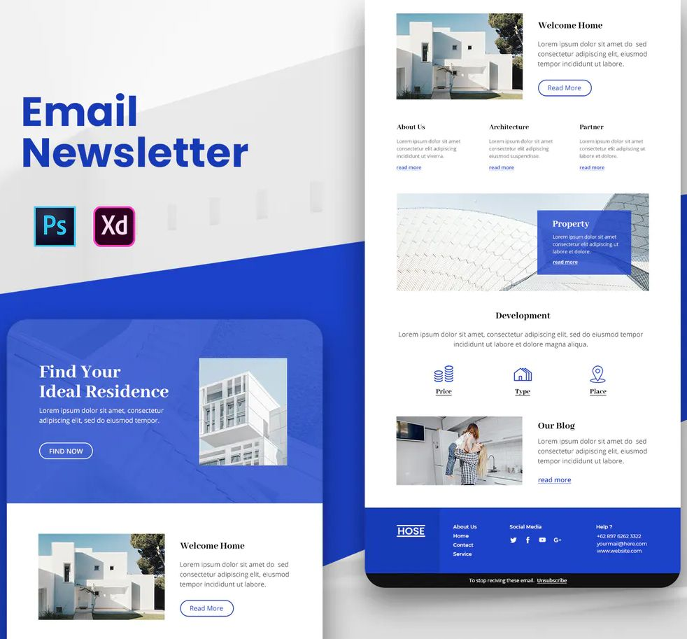 Property Email Newsletter By Uicreativenet On Newsletter