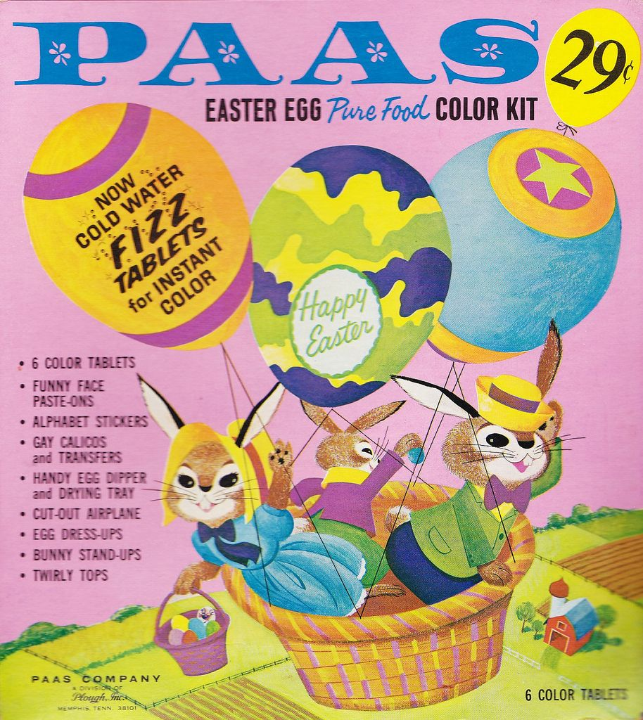 Paas Egg Dye Back in the Day! Pinterest