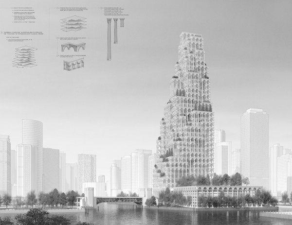 rascacielos neoclasico