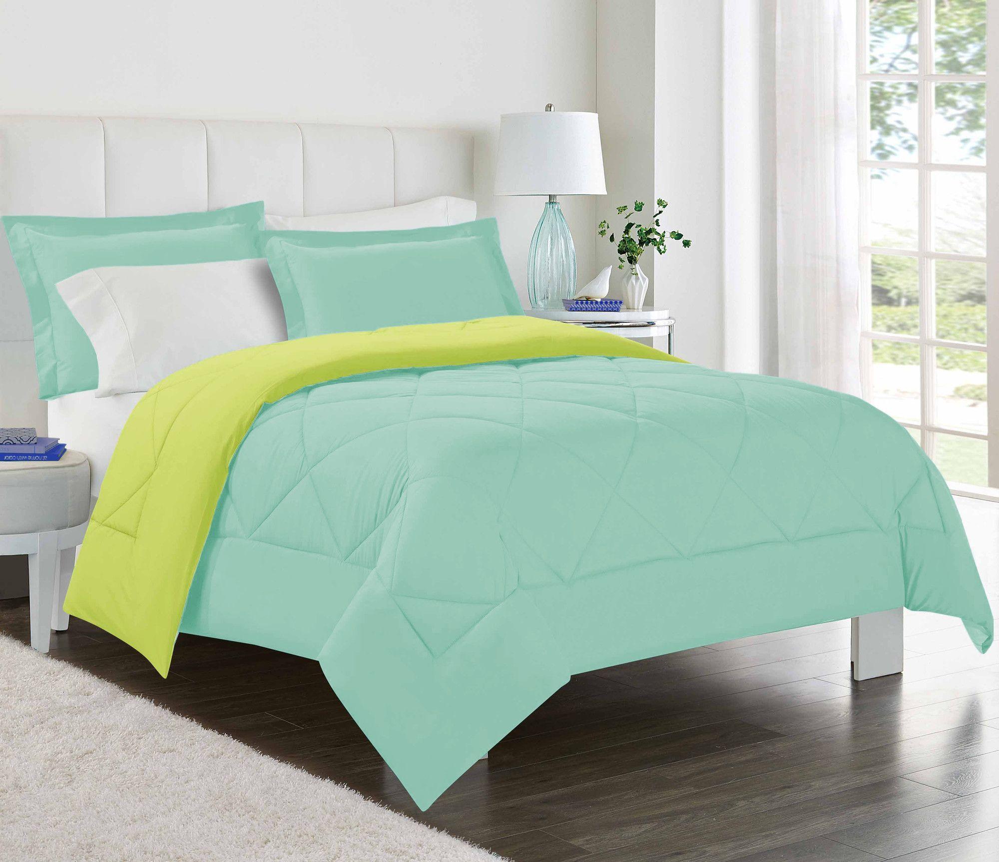 Witte Linen Reversible Duvet Cover Set Comforter Sets Bedroom