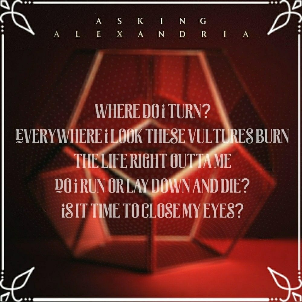 Asking Alexandria Vultures My Newest Absolute Favorite Song