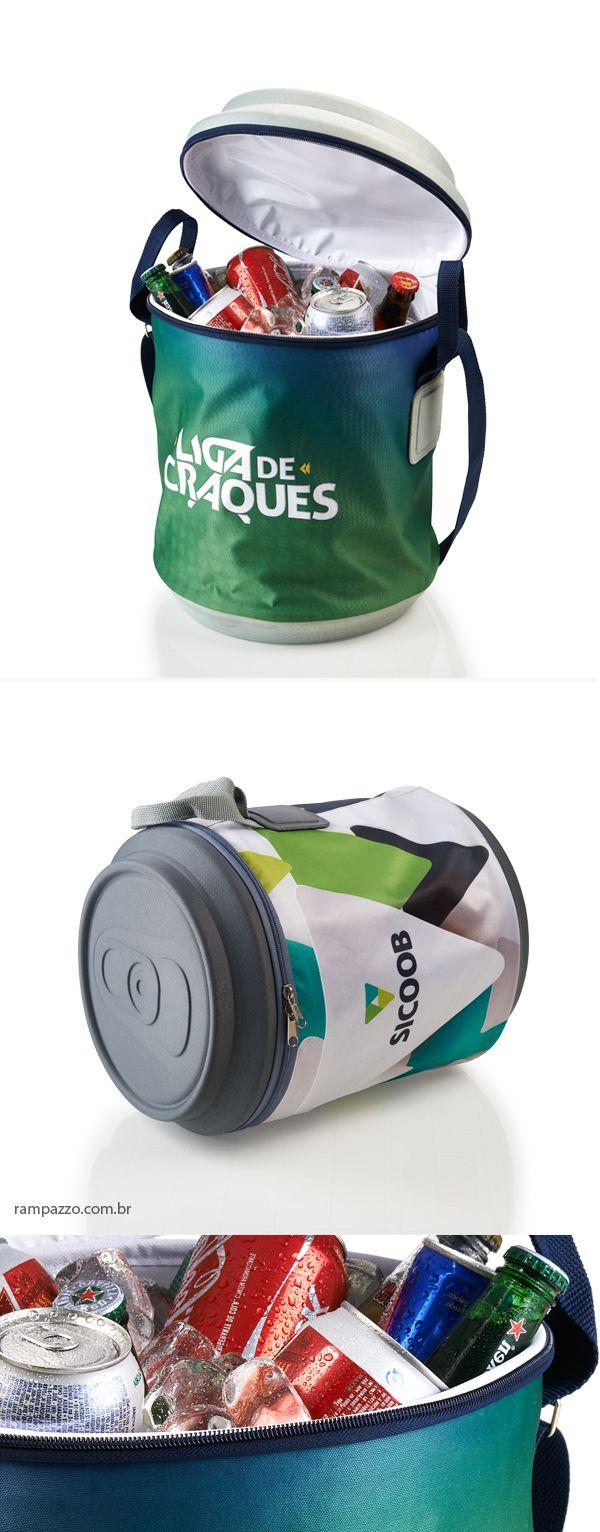 cooler para Brinde personalizado. Produtos termo moldados exclusivos em rampazzo.com.br