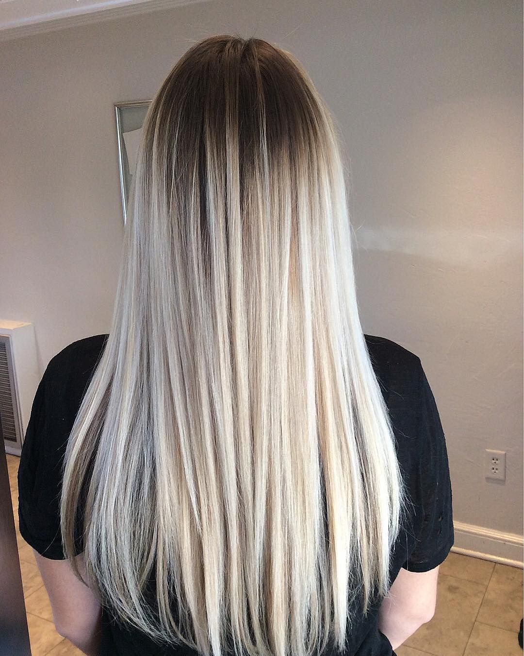 Pretty Ombre Balayage Hairstyle For Long Hair 2019 Long Hair Color And Haircuts Long Hair Styles Balayage Hair Long Hair Color