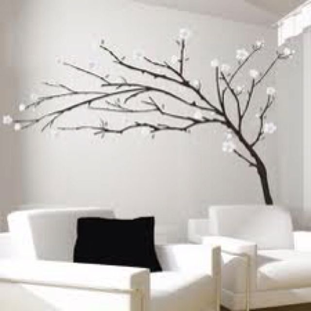 Tree Decals Stencils Wall Modern Wall Decals Wall Sticker Design