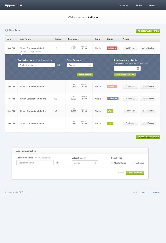 Dashboard V1 Png By Kailoon Web App Design Dashboard Design Mobile Web Design